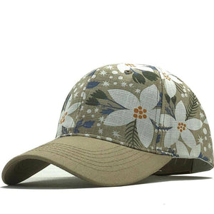 Men Women Baseball Cap Snapback Printing Flowers Couple Hats Quality Cotton Summer Caps Bone Girl Hats | akolzol