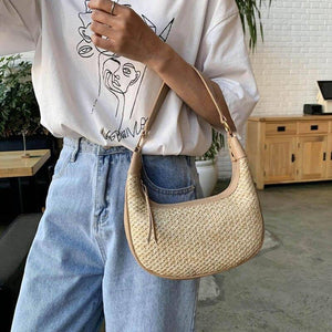 Summer Weave Straw Straw Bags For Women 2020 New Fashion Design Beach Crossbody Shoulder Bags Female Travel Small Handbags Totes | 2020, Bags, Beach, Crossbody, Design, Fashion, Female, For, Handbags, New, Shoulder, Small, Straw, Summer, Totes, Travel, Weave, Women | akolzol