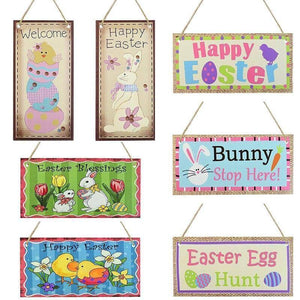 10*20cm Happy Easter Wood Pendant Door Sign Listing Tag DIY Wooden Craft Outdoor Hanging Ornament Easter Home Party Wall Decor | 1020, cm, Craft, Decor, DIY, Door, Easter, Hanging, Happy, Home, Listing, Ornament, Outdoor, Party, Pendant, Sign, Tag, Wall, Wood, Wooden | akolzol
