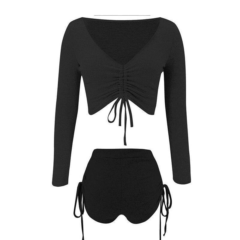 Autumn Winter Sexy Two Piece Set Women Sweat Suits Clothes Casual Long Sleeve V-neck  Shorts Suit Fall Clothes For Women's 2020 | 2020, Autumn, Casual, Clothes, Fall, For, Long, Piece, Set, Sexy, Shorts, Sleeve, Suit, Suits, Sweat, Two, Vneck, Winter, Women, Womens | akolzol