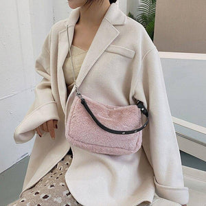 Plush Shoulder Bags for Women Winter Warm Trend Fashion Chain Crossbody Bag Branded Simple Design Female Armpit Handbags | Armpit, Bag, Bags, Branded, Chain, Crossbody, Design, Fashion, Female, for, Handbags, Plush, Shoulder, Simple, Trend, Warm, Winter, Women | akolzol
