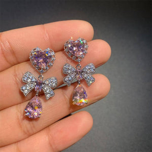 100% Real S925 Sterling Silver color Earring for Women Real Natural Amethyst Gemstone Bizuteria Silver 925 Jewelry Drop Earring | 100%, 925, Amethyst, Bizuteria, color, Drop, Earring, for, Gemstone, Jewelry, Natural, Real, Silver, Sterling, Women | akolzol