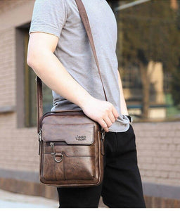 Top-handle Shoulder Bags For Men Leather Crossbody Bag Messenger Sling Bag Vintage Summer Brand Design Business Bags | akolzol
