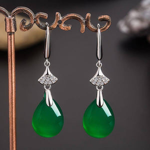 100% Real S925 Sterling Silver Earring Women Natural Emerald | 100%, 925, Bizuteria, Drop, Earring, Earrings, Emerald, Garnet, Gemstone, Jewelry, Natural, Real, Silver, Sterling, Wedding, Women | akolzol