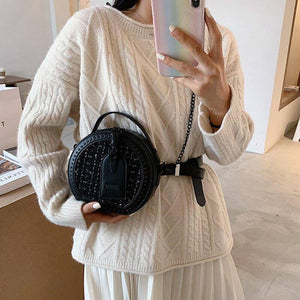Luxury Chain Small Round Crossbody Bags for Women Fashion Wild Design Shoulder Bags Trending Women's Handbags | Bags, Chain, Crossbody, Design, Fashion, for, Handbags, Luxury, Round, Shoulder, Small, Trending, Wild, Women, Womens | akolzol