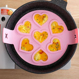 1Pc Egg Pancake Maker Silicone Non Stick Fantastic Ring Kitchen Baking Omelet Moulds Flip Cooker Egg Ring Mold | Baking, Cooker, Egg, Fantastic, Flip, Kitchen, Maker, Mold, Moulds, Non, Omelet, Pancake, Pc, Ring, Silicone, Stick | akolzol