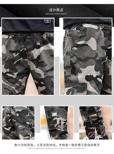 Streetwear Ribbons Casual Pants Men Black Slim Mens Joggers Pants Side-pockets Cotton Camouflage Man Trousers | akolzol