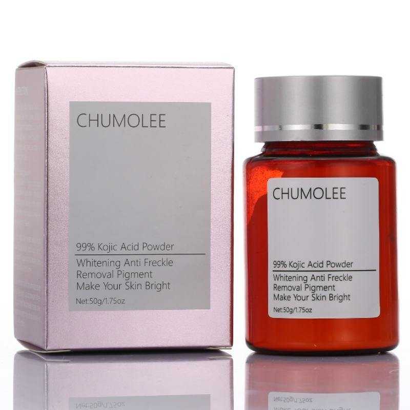 Chumolee 99% Kojic Acid Powder+ Alpha Arbutin Serum Remove Melasma Acne Pigment Melanin Dark Sopt Skin Care Whitening Face Cream | akolzol