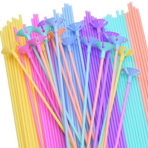 10/20/30/50pcs  Colorful Balloons Stick PVC Plastic Latex Balloon Rods Holder for Wedding Birthday Party Decoration Accessories | 10203050, Accessories, Balloon, Balloons, Birthday, Colorful, Decoration, for, Holder, Latex, Party, pcs, Plastic, PVC, Rods, Stick, Wedding | akolzol