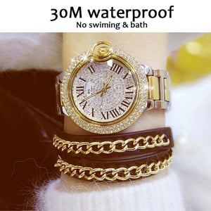 Fashion hot 2018 new designer brand luxury women ladies watch women watches quartz rome scale gold diamond watch women watches | akolzol
