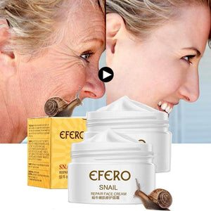 EFERO Snail Face Cream Anti-wrinkle Firming Anti Aging Anti Acne Scar Whitening Face Cream for Face Skin Care Moisturizing Cream | akolzol