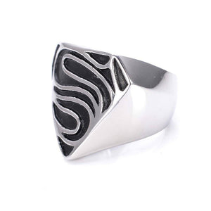 Titanium steel ring fashion personality restoring ancient ways punk rock rings Men's ring | akolzol