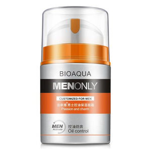 BIOAQUA Brand Men Skin Care Deep Hydrating Moisturizing Oil-control Whitening Face Cream Anti Wrinkle Anti-Aging Day Cream 50g | akolzol