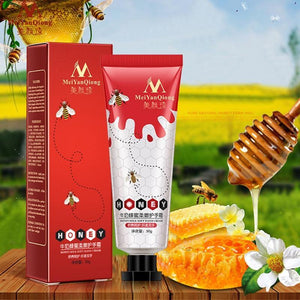 Honey Milk Soft Hand Cream Lotions Serum Repair Nourishing Hand Skin Care Anti Chapping Anti Aging Moisturizing Whitening Cream | akolzol
