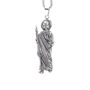 Silver color Men's Stainless Steel Grim Reaper Skull Death Pendant | akolzol