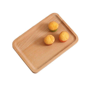 1pc Wooden Trays Serving Tray Tableware Plate Wood Snacks Dessert Food Storage Tea Coffee Breakfast Tray Hotel Home Serving Tray | Breakfast, Coffee, Dessert, Food, Home, Hotel, pc, Plate, Serving, Snacks, Storage, Tableware, Tea, Tray, Trays, Wood, Wooden | akolzol