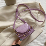 Solid Color Mini Crossbody Bags For Women 2020 Fashion Chain Design Small Shoulder Bags Simple Wild Women's Travel Handbags | 2020, Bags, Chain, Color, Crossbody, Design, Fashion, For, Handbags, Mini, Shoulder, Simple, Small, Solid, Travel, Wild, Women, Womens | akolzol