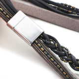 New Fashion Gray Handmade Braided Leather Bracelets 2020 Unusual Multilayer Resin Beads Bracelet Women Jewelry | 2020, Beads, Bracelet, Bracelets, Braided, Fashion, Flashbuy, Gray, Handmade, Jewelry, Leather, Multilayer, New, Resin, Unusual, Women | akolzol