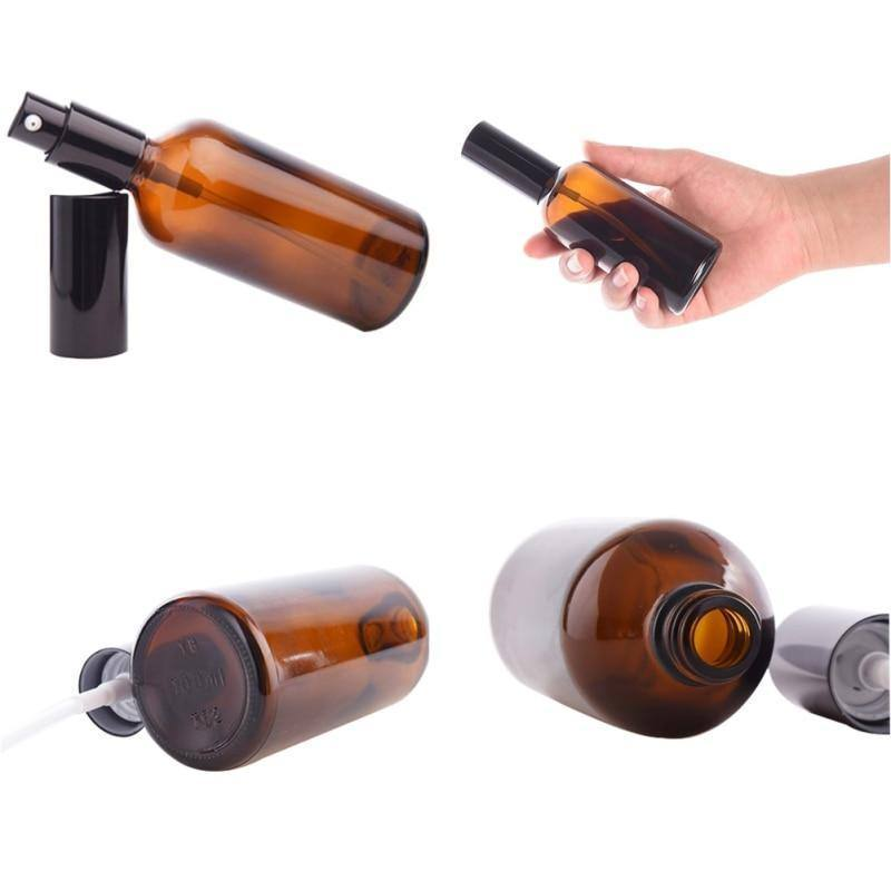 Portable Small Brown Empty Spray Bottles 10ml//30ml/50ml/100ml Glass Mini Refillable Makeup Perfume Cosmetic Container | akolzol
