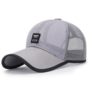 Simple Arrival Adult Unisex Mesh Baseball Caps Adjustable Cotton Breathable Comfortable Sunshade Sun Hat Snapback Caps Gorras | akolzol