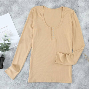 New Spring Autumn Woman Tshirts Tight Plus Size 2XL Solid Color V-Neck Long Sleeve Loose Aesthetic Women's Fall Clothing 2021 | 2021, Aesthetic, Autumn, Clothing, Color, Fall, Long, Loose, New, Plus, Size, Sleeve, Solid, Spring, Tight, Tshirts, VNeck, Woman, Womens, XL | akolzol
