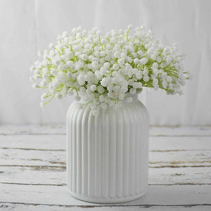 19cm White Baby's Breath Artificial Flower Gypsophila DIY Floral Wedding Bridal Bouquet Party Home Fake Flowers Decoration (1 boquet) | 19, Artificial, Babys, Bouquet, Breath, Bridal, cm, Decoration, DIY, Fake, Floral, Flower, Flowers, Gypsophila, Home, Party, Wedding, White | akolzol