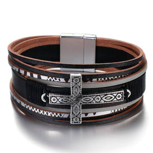 Vintage Cross Multilayer Leather Bracelets For Women Fashion Charms Warp Bracelet Vintage Multilayer Bangles Gift | Bangles, Bracelet, Bracelets, Charms, Cross, Fashion, Flashbuy, For, Gift, Leather, Multilayer, Vintage, Warp, Women | akolzol