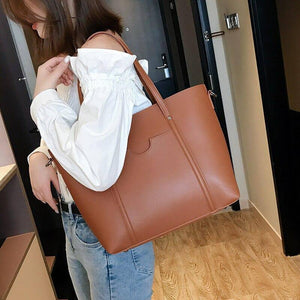 Fashion Women Handbag New Women's Bags Pu Leather Female Crossbody Bags Women Large Capacity Shoulder Bag Handbag | akolzol