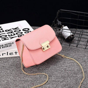 Chain Design Women's PU Leather Handbags Small Crossbody Bags For Women 2020 New Female Fashion Simple Solid Color Shoulder Bags | 2020, Bags, Chain, Color, Crossbody, Design, Fashion, Female, For, Handbags, Leather, New, PU, Shoulder, Simple, Small, Solid, Women, Womens | akolzol