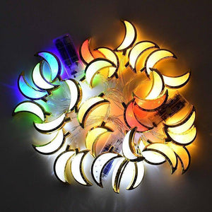 1.65m Eid Mubarak LED Light Moon Star String Lamp Muslim Islam Festival Event Party Supplies  Ramadan Kareem Decoration | 165, Decoration, Eid, Event, Festival, Islam, Kareem, Lamp, LED, Light, Moon, Mubarak, Muslim, Party, Ramadan, Star, String, Supplies | akolzol