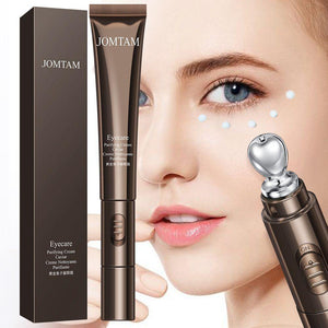 LAIKOU Peptide Collagen Eye Cream Roller Massager Eye Patches Anti Wrinkle Anti-aging Remover Dark Circles Against Eye Puffiness | akolzol