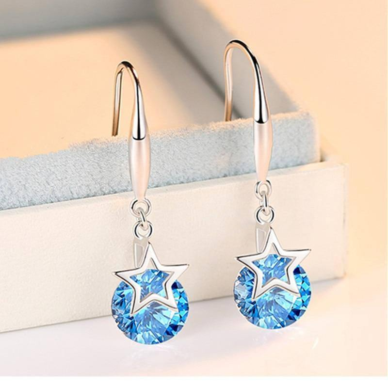 Brand 925 Silver Color Diamond Earrings for Women Blue Topaz Bizuteria Gemstone Jewelry 925 Garnet Earring Peridot Orecchini | 925, Bizuteria, Blue, Brand, Color, Diamond, Earring, Earrings, for, Garnet, Gemstone, Jewelry, Orecchini, Peridot, Silver, Topaz, Women | akolzol