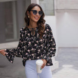 Vintage Print Blouse Top Women Casual Butterfly Sleeve Autumn Holiday Floral Blouse Shirt For Women 2020 New | 2020, Autumn, Blouse, Butterfly, Casual, Floral, For, Holiday, New, Print, Shirt, Sleeve, Top, Vintage, Women | akolzol