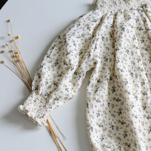 Autumn New Baby Bodysuits Infant Girls Clothes Floral Long Sleeve Baby Girls Jumpsuits Toddler Girls Bodysuit | akolzol