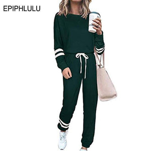 Spring 2 Piece Set Women Outfits Set Tracksuits for Women Lounge Set Two Piece Joggers Women Sweat Suits 3XL | akolzol
