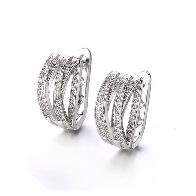 Real Silver 925 Jewelry Earring for Women,aros Mujer Oreja Orecchini Bizuteria Gemstone Hoop Aros De Hoop Garnet 925 Earrings (Silver) | akolzol