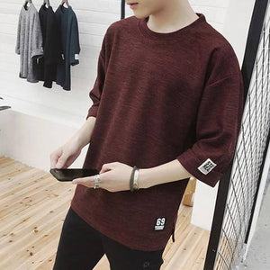 Men's Clothing Casual T Shirt Fashion Men Tops Tees Cotton Plus Big Size TShirt 2020 Male Short Sleeve T-Shirts Hip Hop | akolzol