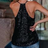 New Tank Top Women Clothes Solid Color Sequins Sleeveless Suspender Black Sexy Tops Backless Fashion For Women's Clothing 2021 | 2021, Backless, Black, Clothes, Clothing, Color, Fashion, For, New, Sequins, Sexy, Sleeveless, Solid, Suspender, Tank, Top, Tops, Women, Womens | akolzol