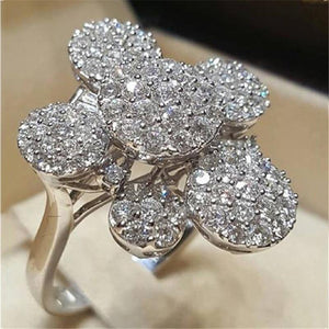 S925 Sterling Silver VVS2 2 Carats Diamond Ring for Womne Men Fahsion Anillos Bizuteria Fine Silver 925 Jewelry Bizuteria Rings | akolzol