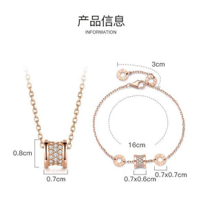 925 Silver Color Necklace Diamond Pendants for Women Colgante Ley 925 Mujer Gemstone Diamond Topaz Jewelry Pierscionki Pendant | akolzol