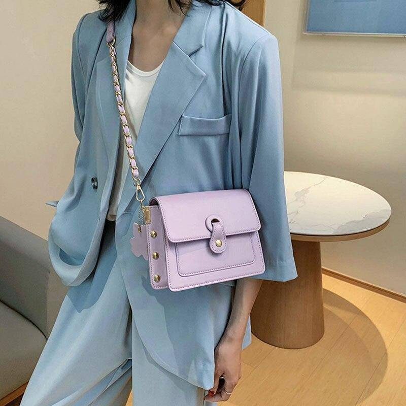 Fashion Chain Pu Leather Crossbody Bags For Women 2020 Summer Wild Solid Color Messenger Shoulder Bags Female Travel Handbags | 2020, Bags, Chain, Color, Crossbody, Fashion, Female, For, Handbags, Leather, Messenger, Pu, Shoulder, Solid, Summer, Travel, Wild, Women | akolzol