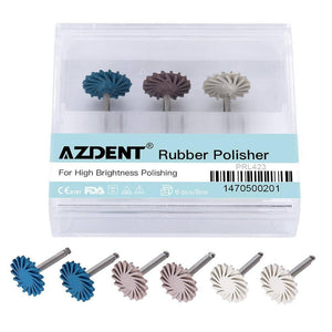 6pcs/set Dental Composite Resin Polishing Disc Kit Spiral Flex Brush Burs Diamond System RA disc 14mm wheel |  | akolzol