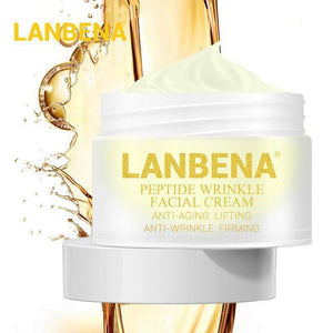 LANBENA Peptide Face Cream Hyaluronic Acid Anti-Wrinkle Anti-Aging Nourishing Face Serum Cream Whitening Moisturizing Skin Care | akolzol