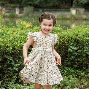 Girl Dresses Clothes NEW Summer Sleeveless Flower Girl Clothes Cildren Princess Dresses Spring Fashion Children Clothing |  | akolzol