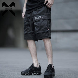 11 BYBB'S DARK 2019 Hip Hop Multi-pocket Cargo Shorts Men Joggers Tactics Shorts Streetwear Summer Casual Sweatpant Black DGH2 | akolzol