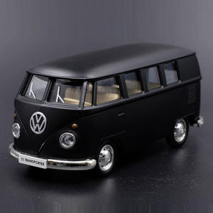 High Simulation Exquisite Diecasts Toy Vehicles RMZ city Car Styling T1 Transporter Classical Bus 1:36 Alloy Model Pull Back Car