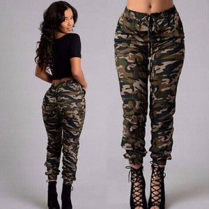 New Fashion Plus Size Womens Camouflage Army Skinny Fit Stretchy Jeans Jeggings Trousers 2XL Streetwear |  | akolzol