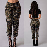 New Fashion Plus Size Womens Camouflage Army Skinny Fit Stretchy Jeans Jeggings Trousers 2XL Streetwear | akolzol