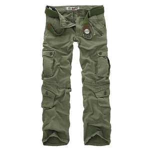 Hot sale free shipping men cargo pants camouflage  trousers military pants for man 7 colors | akolzol