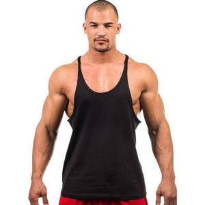 7 Colors Men Tank Top Men Stringer Tank Top Fitness Singlet Sleeveless Shirt Workout Man Undershirt Clothing New | man fashion | akolzol